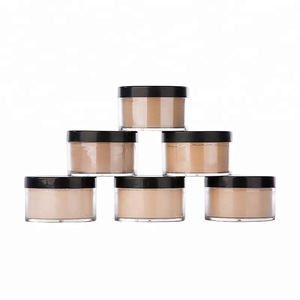 Waterproof Foundation Face Base Makeup Loose Powder Professional Private Label Oil Control Setting Mineral Powder