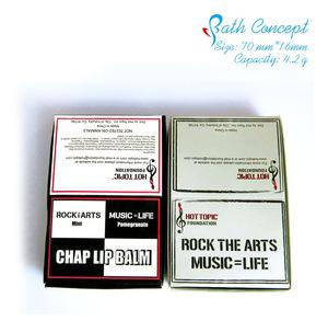 Wholesale flavor custom lip balm chap stick