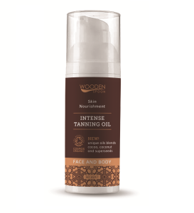 Wooden Spoon Intense Natural Tanning Oil, Made in the EU