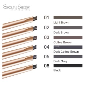 Your own brand Makeup eyebrow gold eyebrow pencil with black eyebrow brush