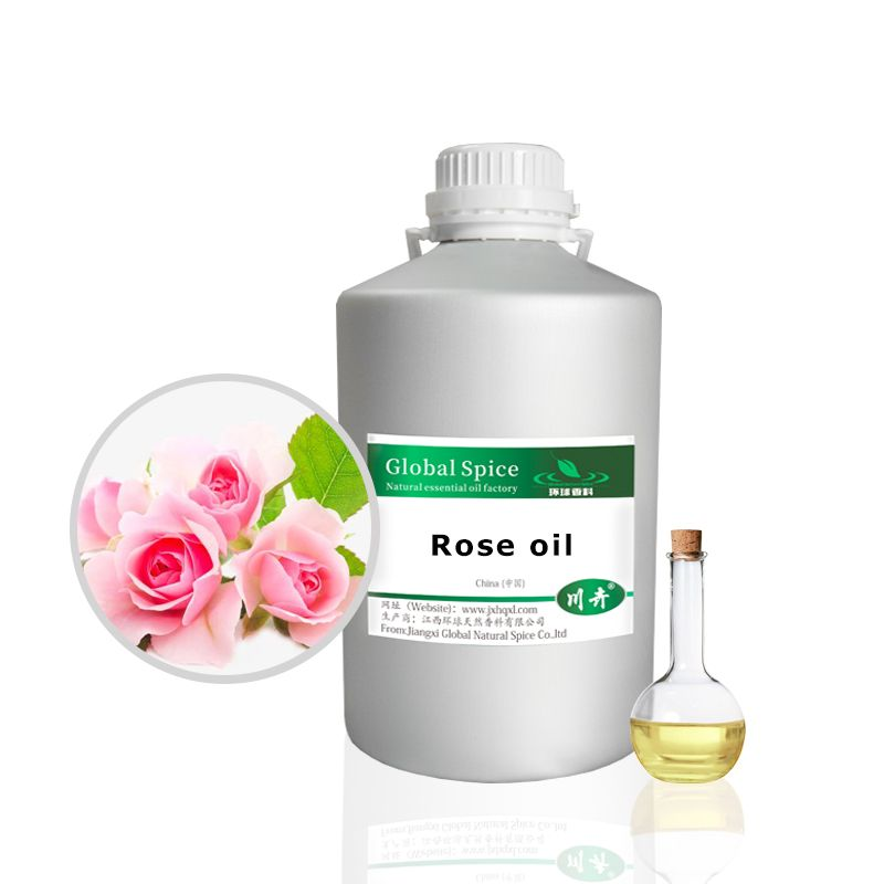 Pure Natural Rose Essential Oil for Skin,Body,Spa Massage