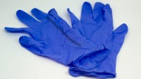 Blue Powder Free Nitrile Gloves wholesales