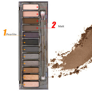 12 colors Naked SMOKY Eye Shadow Palette Free shipping