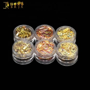 China manufacturer low price decoration DIY gold leaf nail art