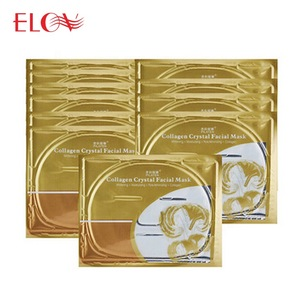Female mask Luxurious 24K anti aging Gold Collagen Crystal Gold Face Mask