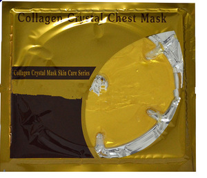 Gold Collagen crystal breast enlargement mask for women