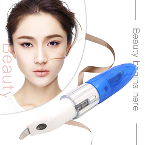 High Quality Digital Touch Screen Cometic Sem Sonic Cleansing Remove Facial Peeling Ultrasonic Vibration Ion Skin Scrubber
