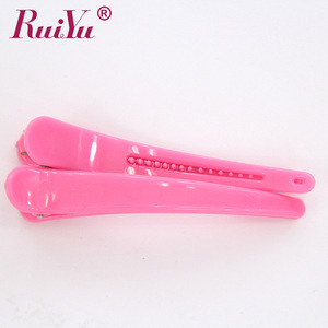 Hot selling hair section clips hair extension tools snap clips
