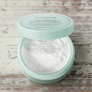 Innisfree No Sebum Mineral Powder waterproof loose powder makeup compact powder  5g