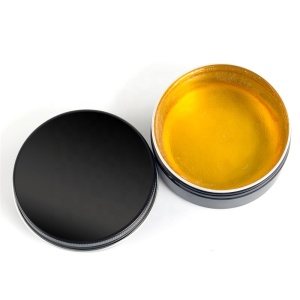 Men perfume scent gold color water based hair pomade private label hair wax