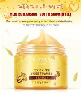 OEM ODM BIOAQUA Foot Care product Shea Butter Nourishing whitening Tender Foot cream