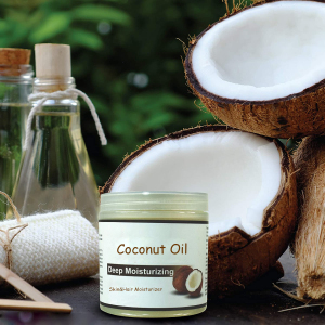 Private Label Skin&Hair Moisturizer Anti-Aging Massage Oil Coconut Oil