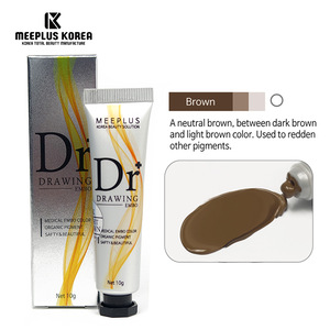 Safe and Best Microblading Pigment (Brown) Semi Permanent Makeup Tattoo Pigment Made by Best Manufacture in Korea