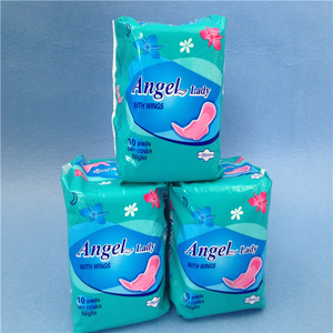 sanitary napkin tampon pad