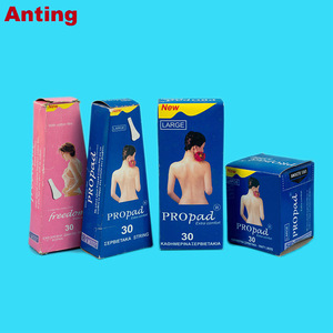 Wholesale Disposable Wingless Ultra Thin Negative Ions Black Panty Liners