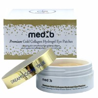 MED B PREMIUM GOLD HYDROGEL EYE PATCHES