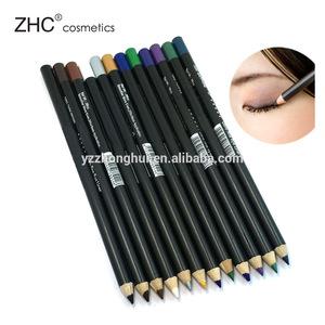 CC1389&CC1388 Makeup Pencil Waterproof Lip liner/eyeliner/eyebrow pencil with custom logo