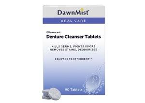 DAWNMIST DENTURE CLEANSER TABLETS