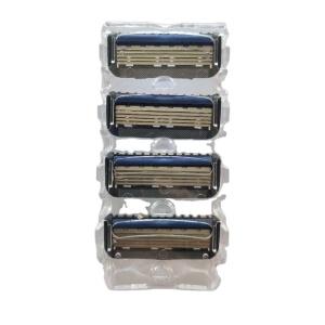 GK5 5 blade shaving razor cartridge  blade stainless steel razor
