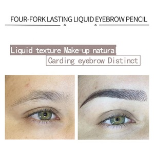 HANDAIYAN Liquid Long Lasting fork 3D Eyebrow Pencil Waterproof