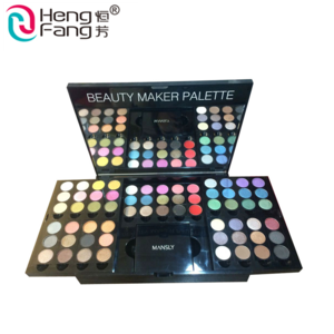 Hot Hengfang Mineral Pigments Glitter  Shimmer  Eyeshadow Palette Cosmetics Makeup