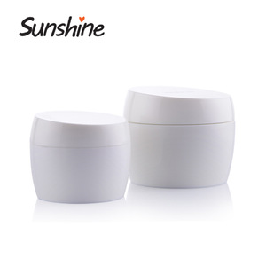Round shape empty Hair Products Cosmetic Jar Packaging Jars