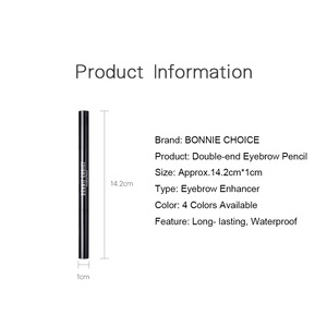 BONNIE CHOICE Drawing Eye Brow Long Lasting Waterproof Automatic Eyebrow Pencil with Brush Cosmetics