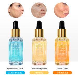 BREYLEE organic face serum whitening anti wrinkle anti aging face serum free shipping