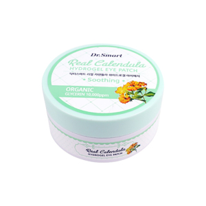 Korea Dr.Smart skin brightening & Protection real Calendula hydrogel eye patch