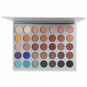Morphe Jaclyn Hill Eyeshadow Palette 35 Color Makeup Eye Shadow Palette