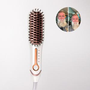 Multifunctional Hair Comb Brush Beard Straightener hot air brush