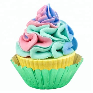 OEM / ODM Donut Natural Essential Oils Color Donut Cupcake Bathbombs for Sale