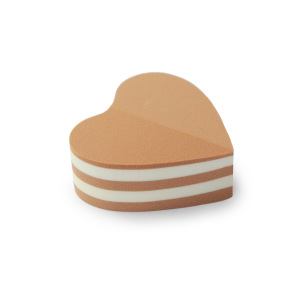 Private Label Latex Free Cake Heart esponjas maquillaje Makeup Sponge Washable Puff Christmas Valentines day gift Blender