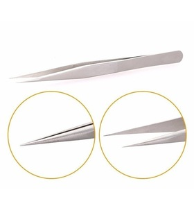 Professional Eyelash Extension Tweezers Women Beauty Eyebrow Plucking False Eyelash Manicure Custom Tweezers