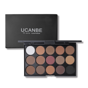 Wholesale top beauty eye shadow makeup own brand 15 color palette diamond flash eye shadow custom unbranded makeup palette
