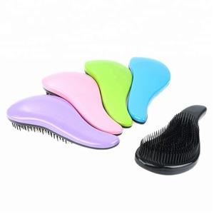 Yaeshii Hot Product customized detangling hair brush Detangling Brush Boar bristle Detangler Hair Comb