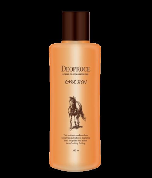 Korean cosmetics skin toner HORSE OIL HYALURONE 380 EMULSION OEM/ODM