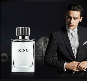 30ml Men King Cologne Glass Bottle Perfume French Brand Jasmine Sandalwood Amber Citrus Lavender Lasting Fragrance OEM / ODM