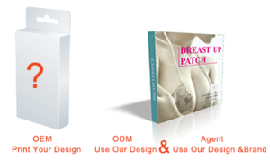 Can be customized health care product ,High-security breast up patch