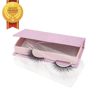Factory Price Free Sample False Eyelash Mink, 3D Mink Eyelash Private Label Eyelash Box