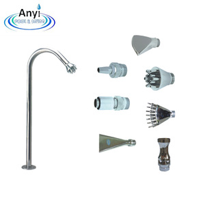 High quality stainless steel swimming pool impact massage water jet nozzle used spa equipment