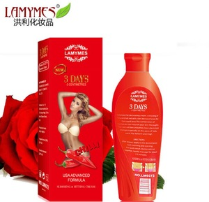 hot sale 3 days 3cm chilli fitting and slimming cream