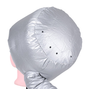 Hot Sock Diffuser Hair Dryer Portable Soft Hood Bonnet Attachment Hair Care Steamer