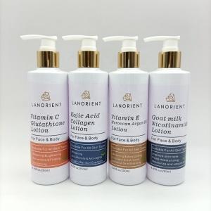 OEM private label womens  vc retinol arbutin multiple whitening cream firming body lotion