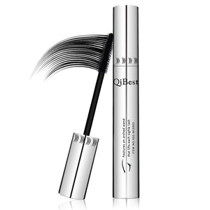 QIBEST Silver Tube Big Eyelashes Makeup Mascara Private Label Waterproof