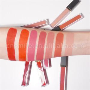 Velvet waterproof matte liquid lipstick tint red bulk matte liquid lipstick