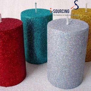 Wholesale bulk green color shimmering flash glitter for craft application