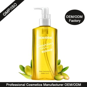 Wholesale makeup remover plant oil extract deep cleansing oil in bulk