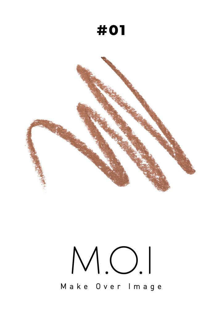 MAGIC BROW PENCIL - COLOR # 01 - LIGHT BROWN BY M.O.I