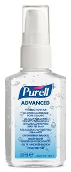 Hand Sanitizers (different brands available)